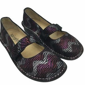 Alegria Paloma Mary Janes Comfort Shoes Size 5